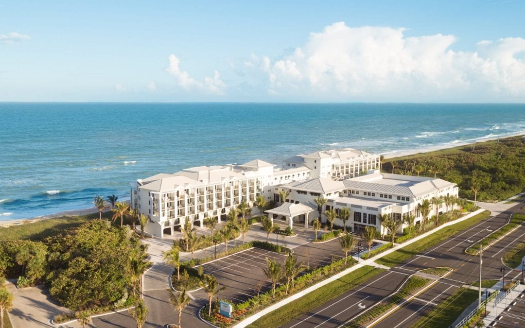 Hutchinson Shores Resort & Spa earns coveted Three Palms designation