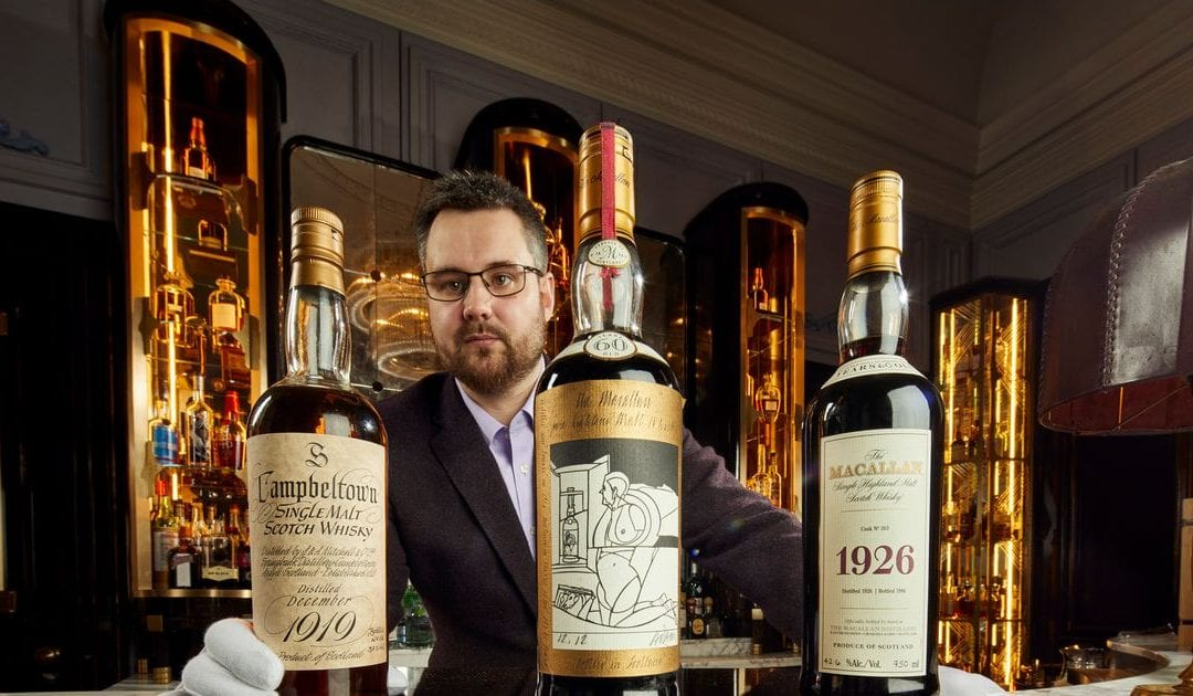 Whisky galore! Largest ever collection could fetch up to $10 million