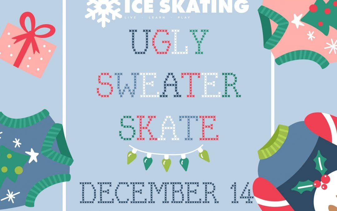Manhattan Parks & Recreation Hosts Ugly Sweater Skate Contest