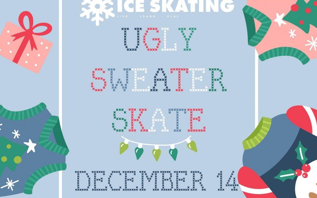 Manhattan Parks & Recreation Hosts Ugly Sweater Skate Contest