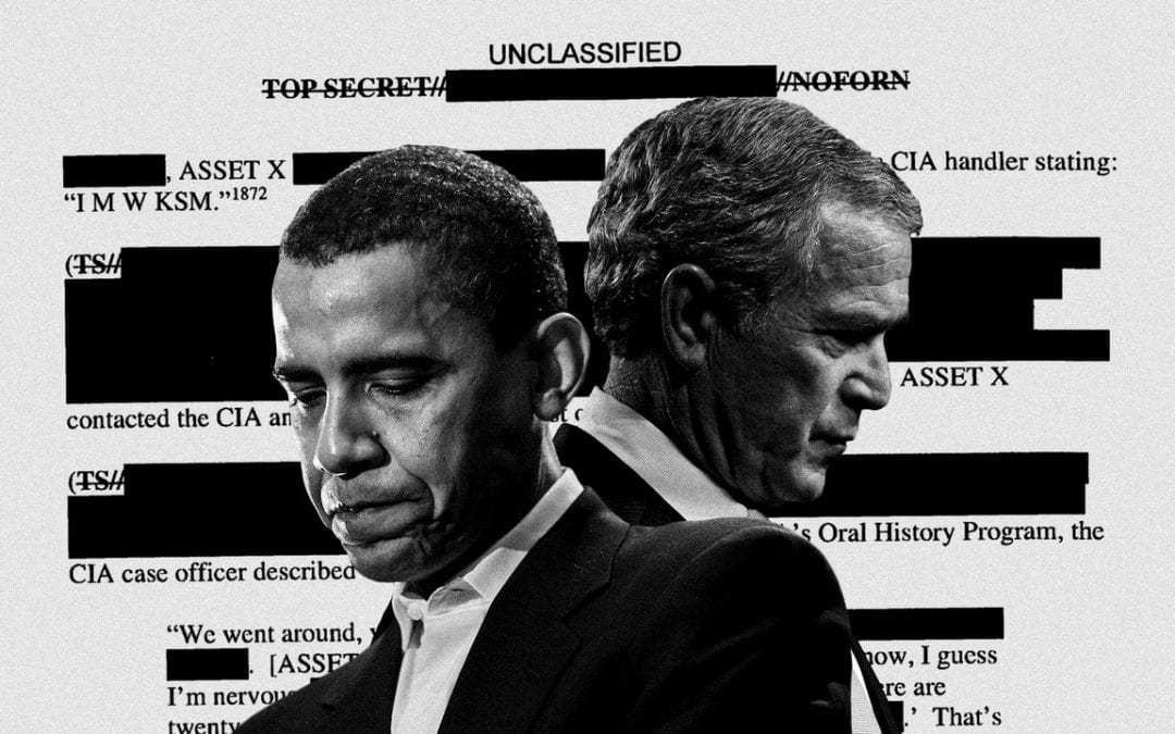 GEORGE BUSH, BARACK OBAMA, AND THE CIA TORTURE COVER-UP