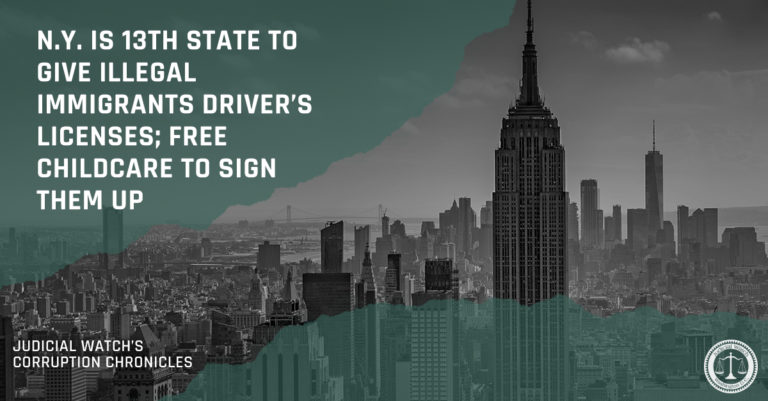 N.Y. is 13th State to Give Illegal Immigrants Driver's Licenses; Free Childcare to Sign Them Up