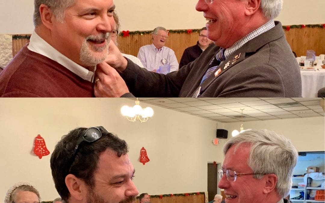 Newark Club Inducts Two New Members