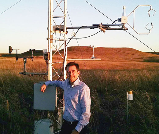 K-State Researcher To Expand Network That Aids Irrigation Water Use