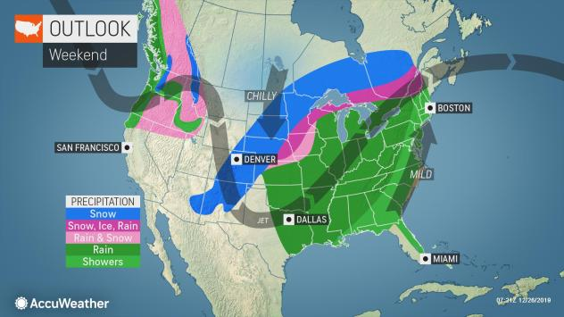 Whiteout Conditions To Blanket The Plains, Midwest As Whipping Blizzard Conditions Bring Heavy Snow