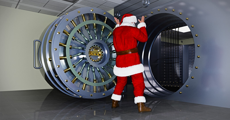 RON PAUL: HOW CONGRESS AND THE FEDERAL RESERVE STOLE CHRISTMAS