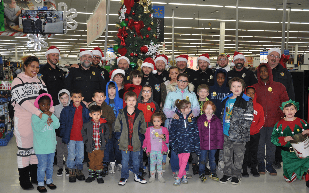 """Newark Police Department participates in """"Shop with a Cop"""" program"""