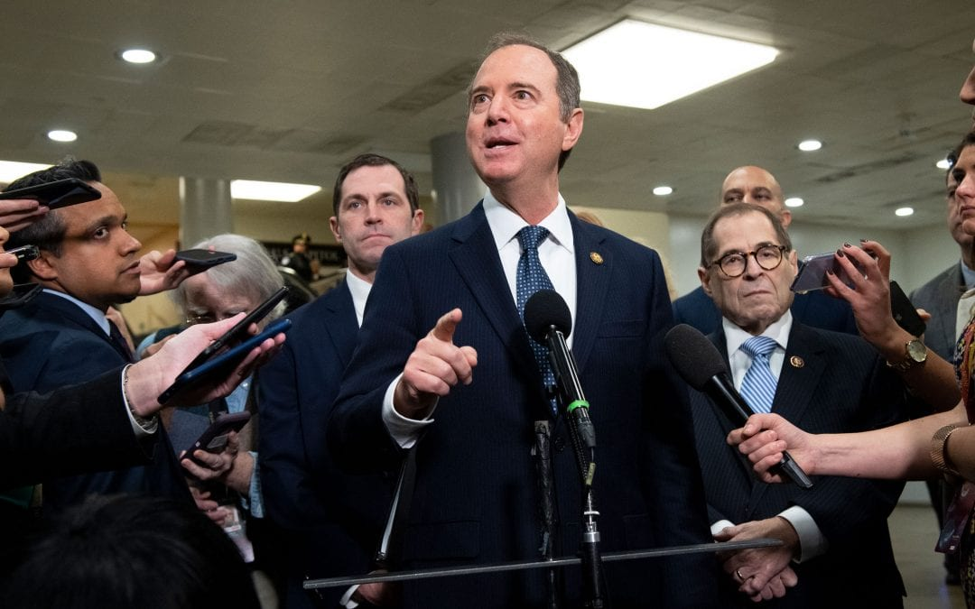 Adam Schiff Issues Disclaimer: Impeachment is Not to Help Joe Biden