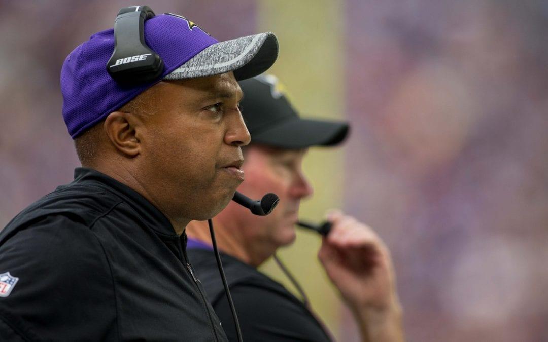 Vikings DC Edwards won't return