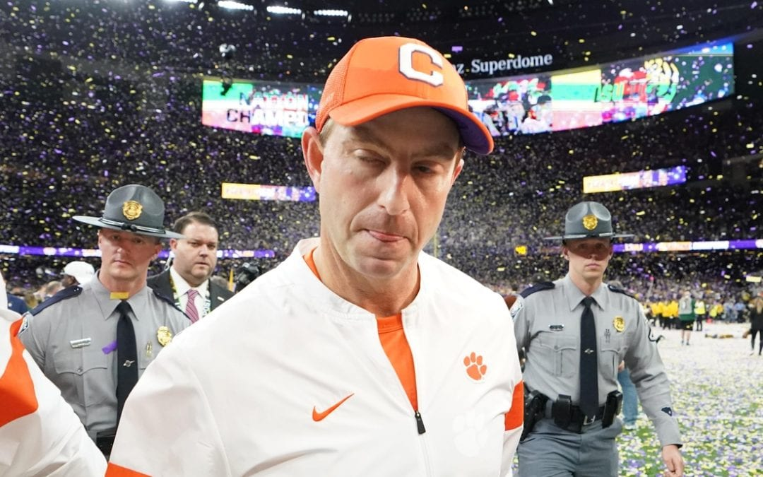 Clemson pegged as favorite in 2020