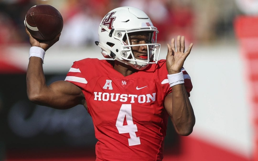 Houston QB King enters transfer portal