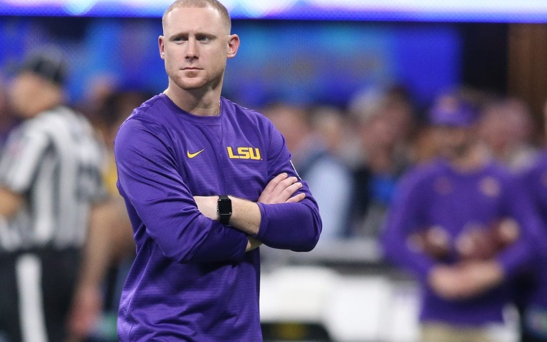 Reports: LSU's Brady set to become Panthers OC