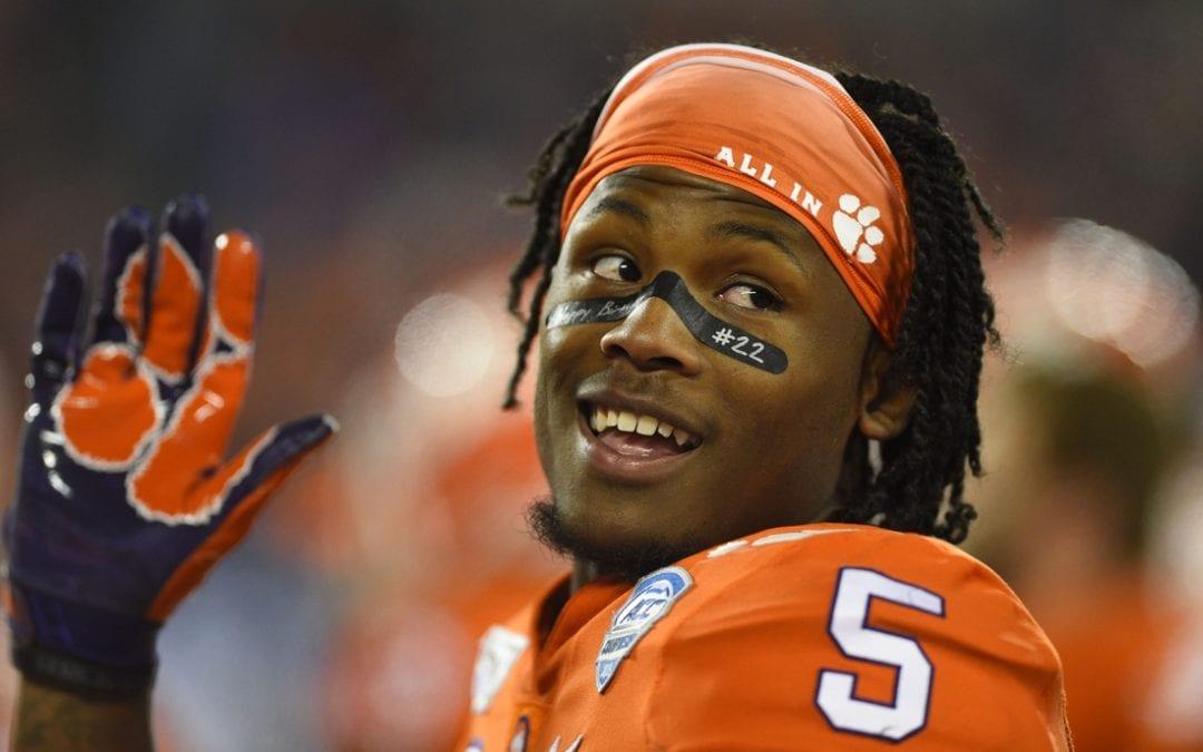 Clemson WR Higgins declares for NFL draft