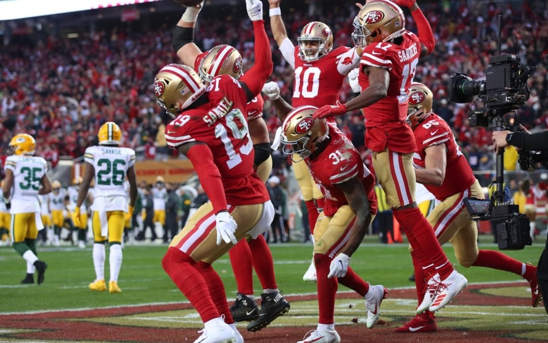 Mostert, 49ers run all over Packers to reach Super Bowl LIV