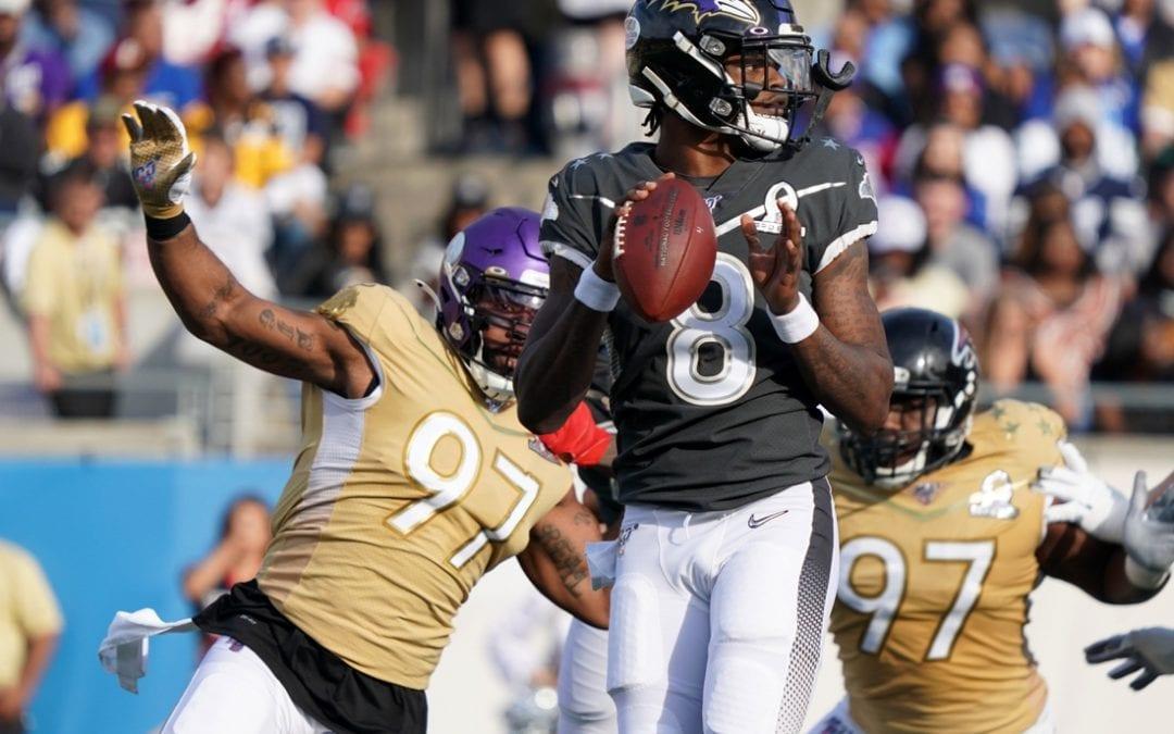 Pro Bowl: Jackson's two TD passes lead AFC past NFC, 38-33