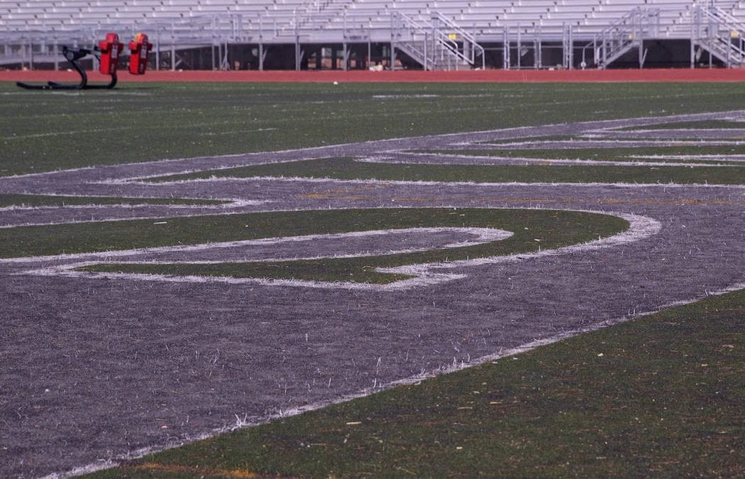 Raiders chip in $250K to help replace Rancho High School athletic field