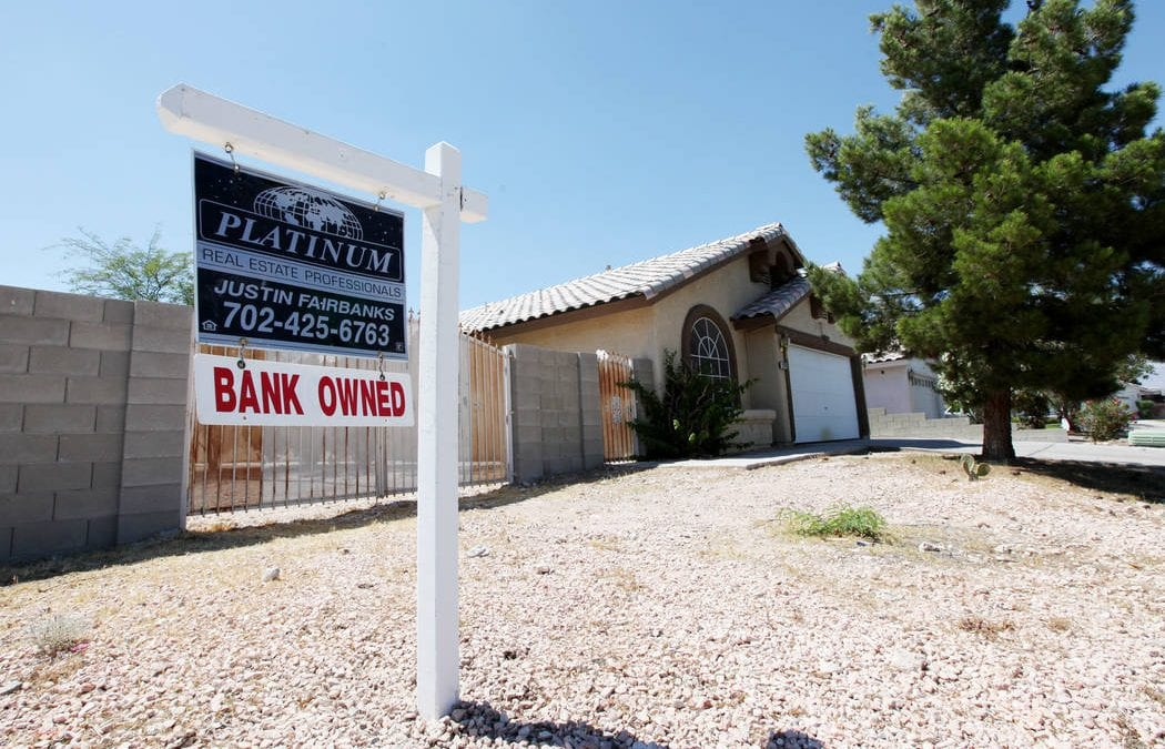Las Vegas foreclosure rate keeps falling