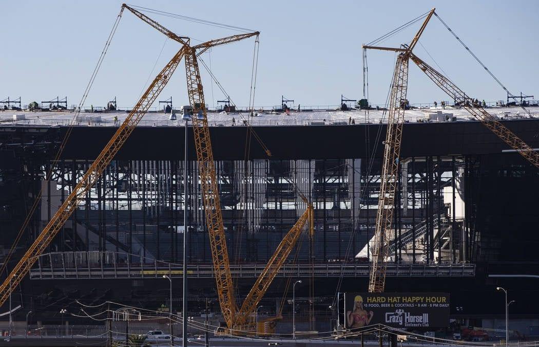 Raiders tell authority board Allegiant Stadium will open on time