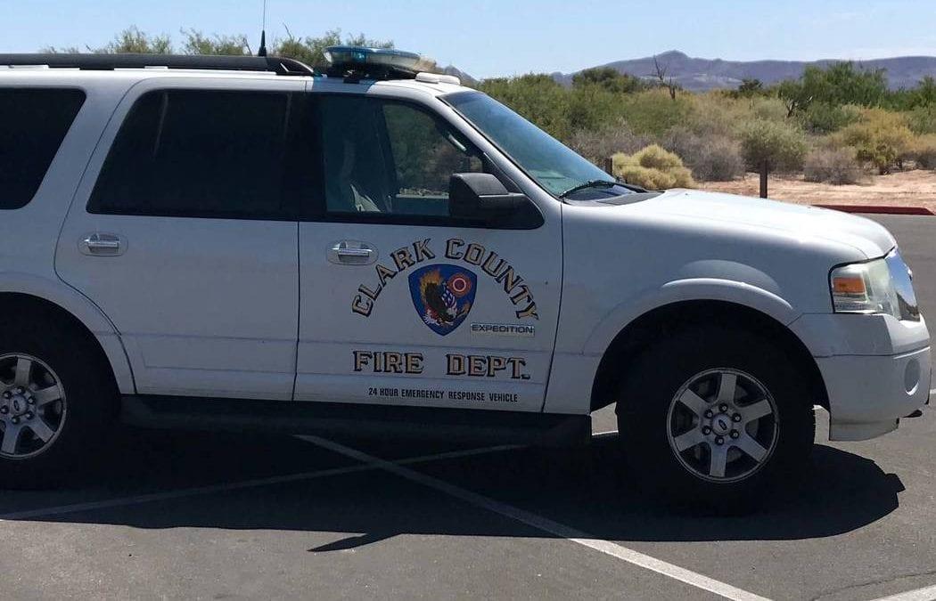 Firefighters extinguish blaze in southwest Las Vegas