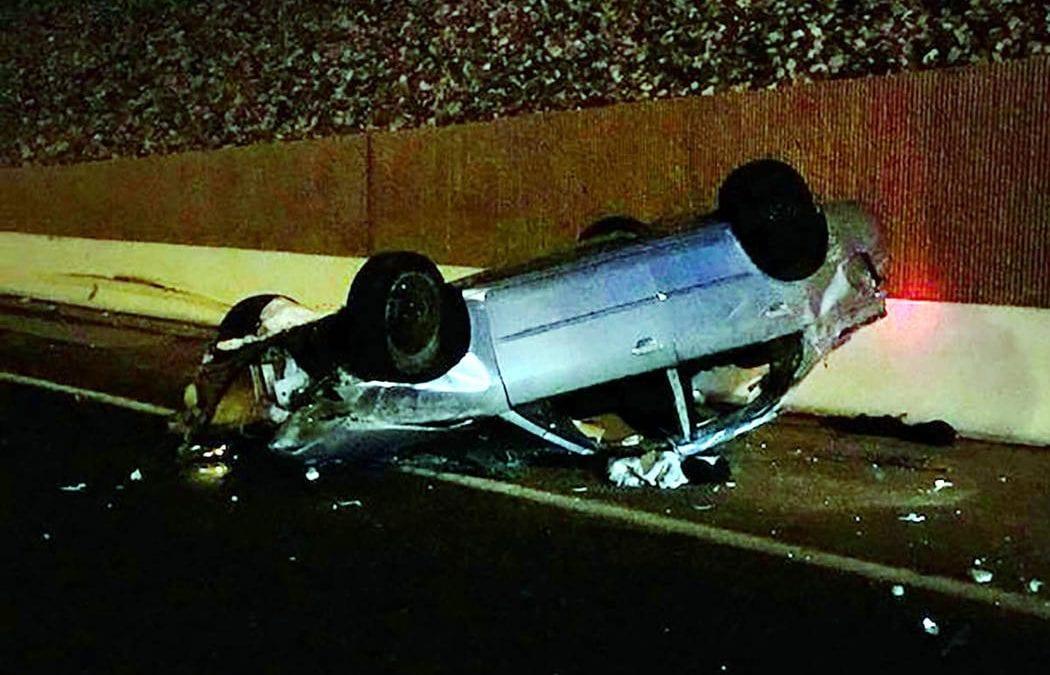 Girl, 17, killed in rollover crash on 215 Beltway in Henderson