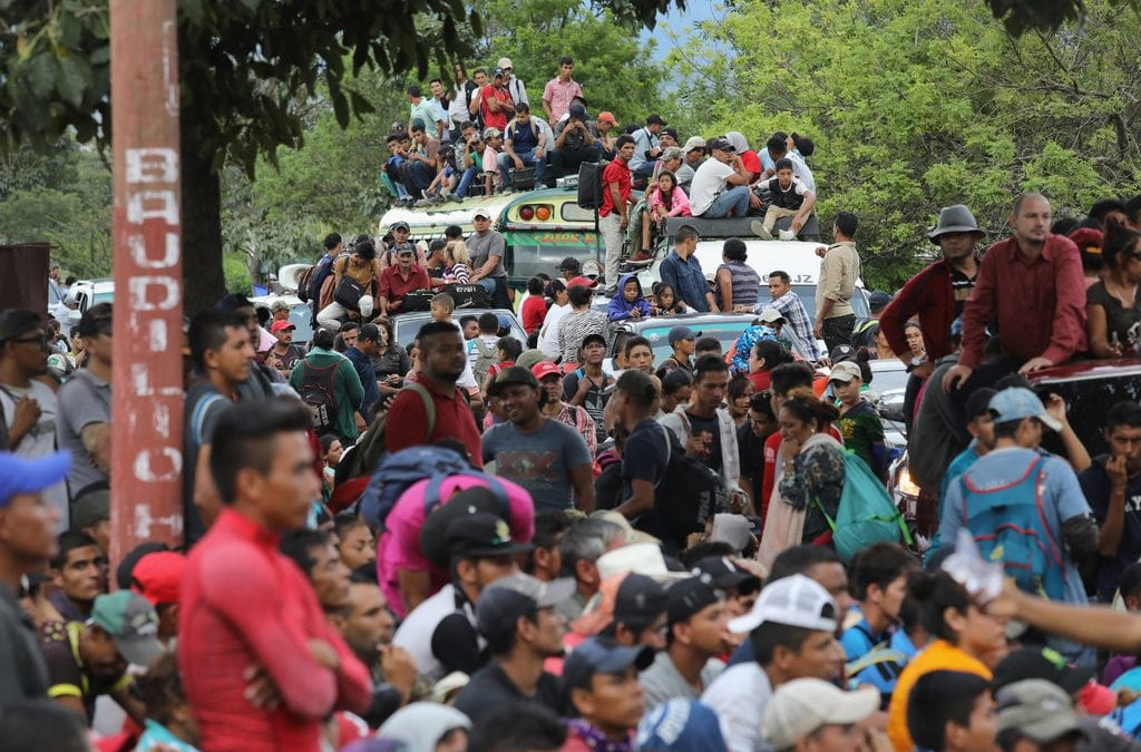 Honduras Arrests U.S.-Bound Iranians as New Caravan Heads North from Central American Nation