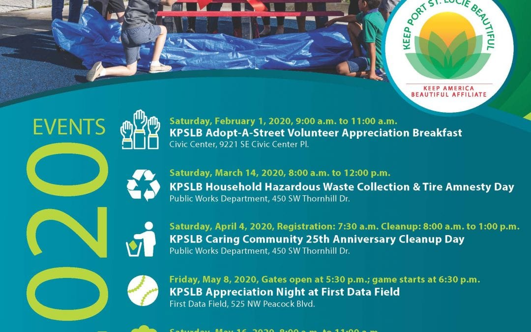 KPSLB City of Port St Lucie 2020 Events