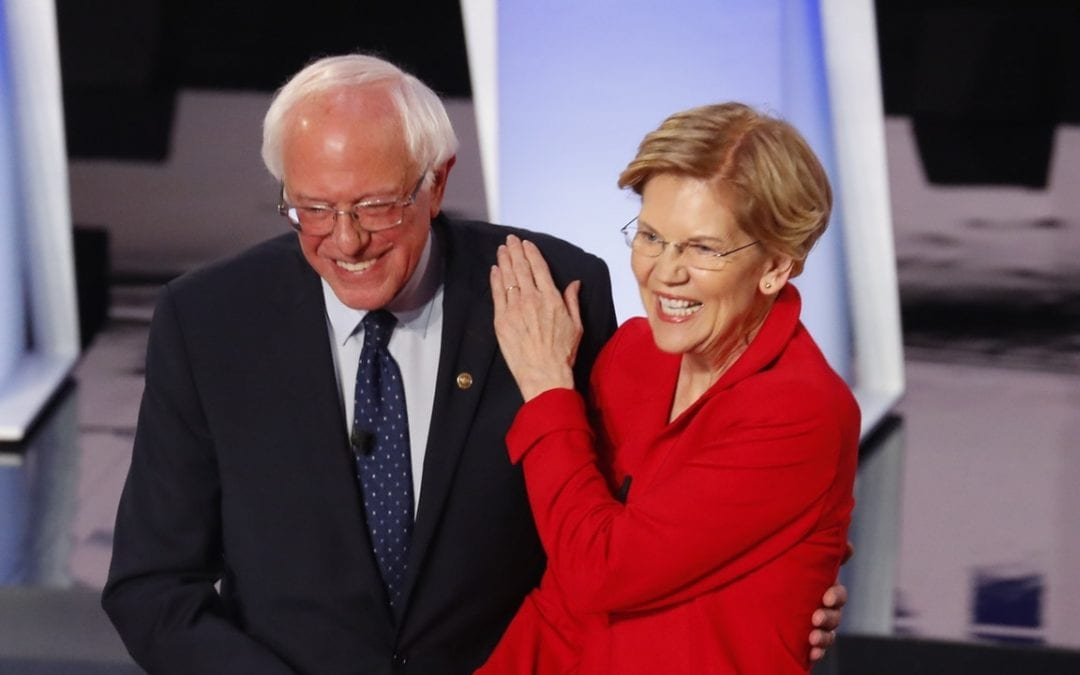 THE SANDERS CAMPAIGN RESEARCHED WHETHER WARREN COULD BE BOTH VICE PRESIDENT AND TREASURY SECRETARY AT ONCE