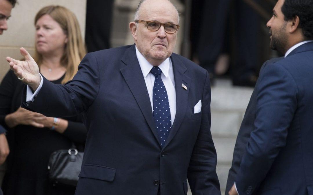 Rudy Giuliani threatens to go public with Biden corruption allegations