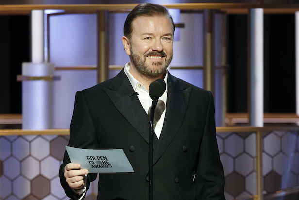 Ricky Gervais Proves Pompous Hollywood Can No Longer Take a Joke