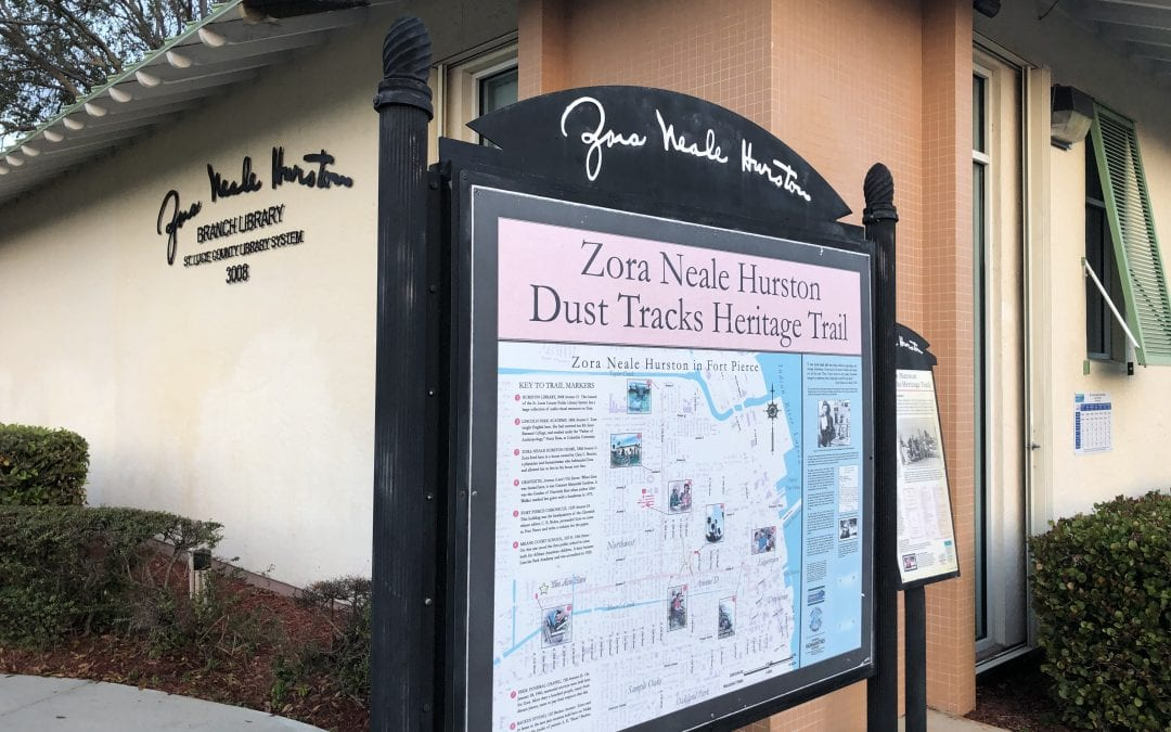 Celebrate Black History Month with St. Lucie Library's Zora Neale Hurston Reading Challenge