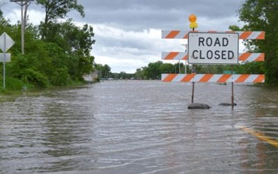Grant received to help river flooding victims