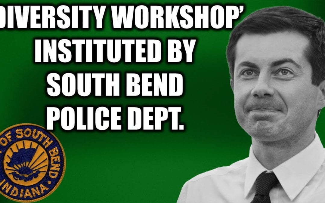 """TOM FITTON: HOW PETE BUTTIGIEG'S DIVERSITY WORKSHOP """"LECTURED COPS ON SIZE-ISM"""""""