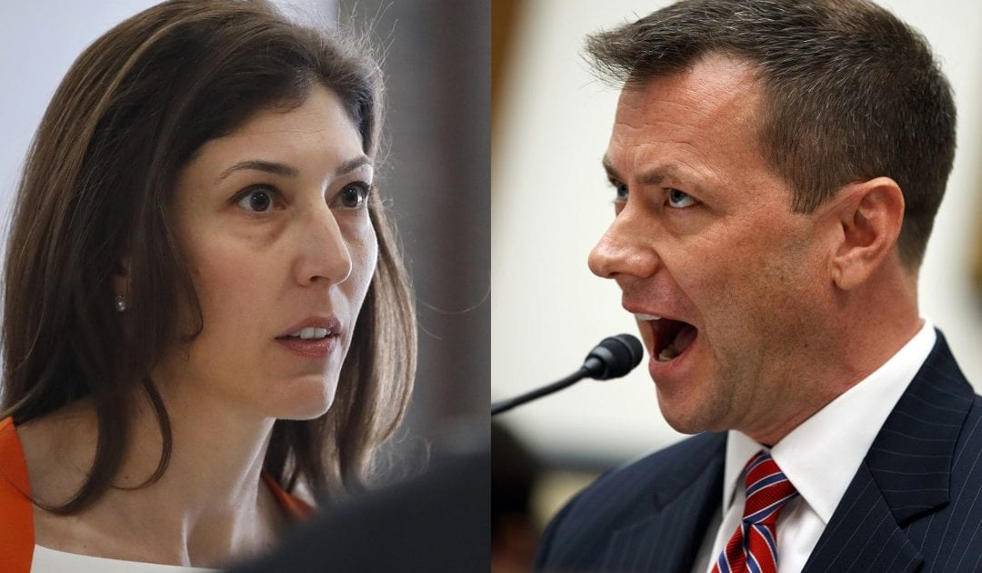 TOM FITTON: PAGE & STRZOK STILL BEING PROTECTED BY FBI OVER INVOLVEMENT IN TRUMP TARGETING