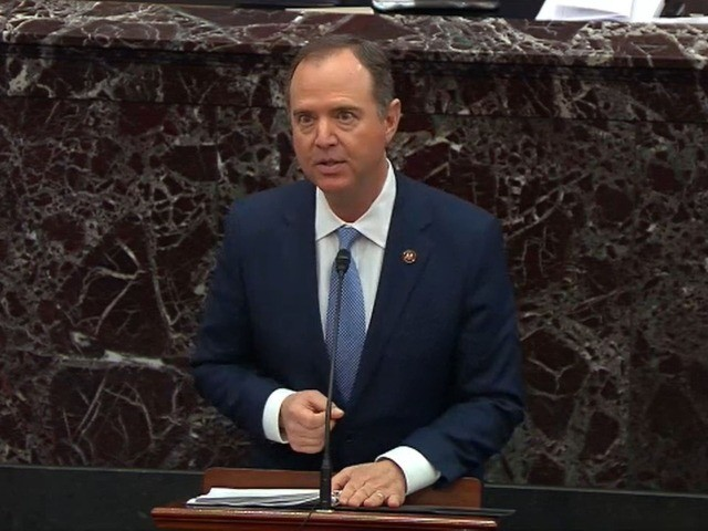 Schiff: Trump 'Guilty' if Senate Rejects Democrats' Demand for New Witnesses, Evidence