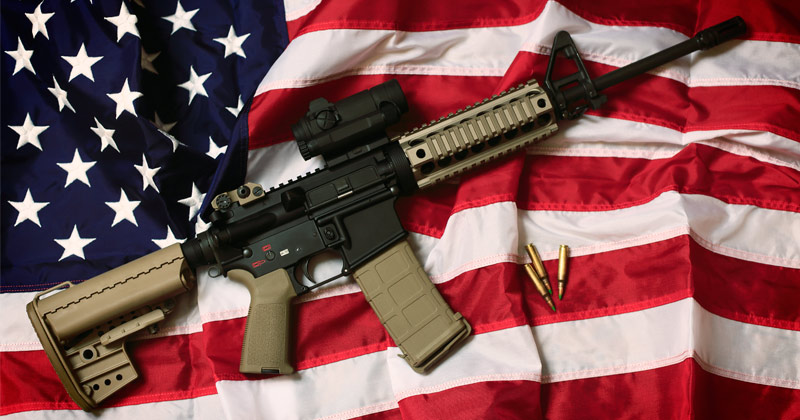 PREGNANT MOTHER SAVED FAMILY BY KILLING INTRUDER WITH AR-15