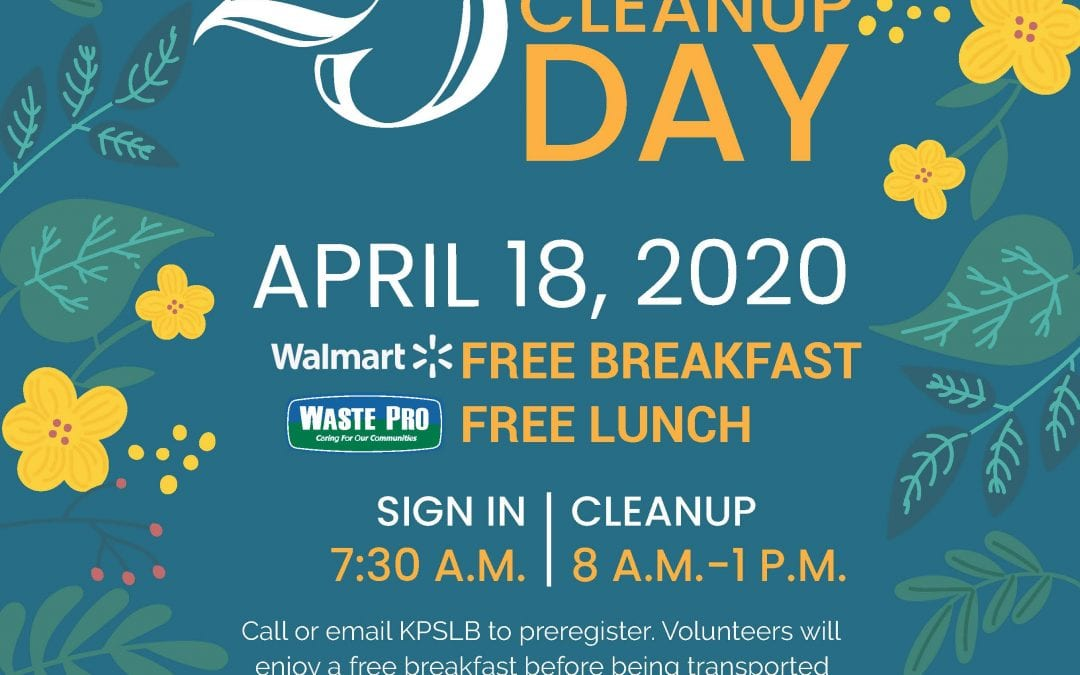 KPSLB Caring Community 25th Anniversary Cleanup Day