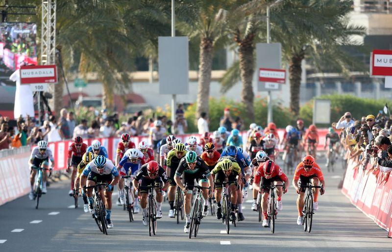 Cycling – Coronavirus tests clear 167 of possible UAE Tour exposure