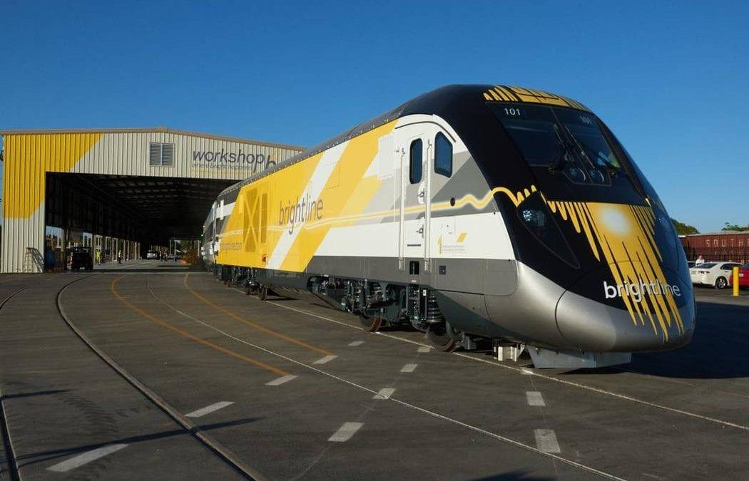 Virgin Trains plans big station south of Las Vegas Strip