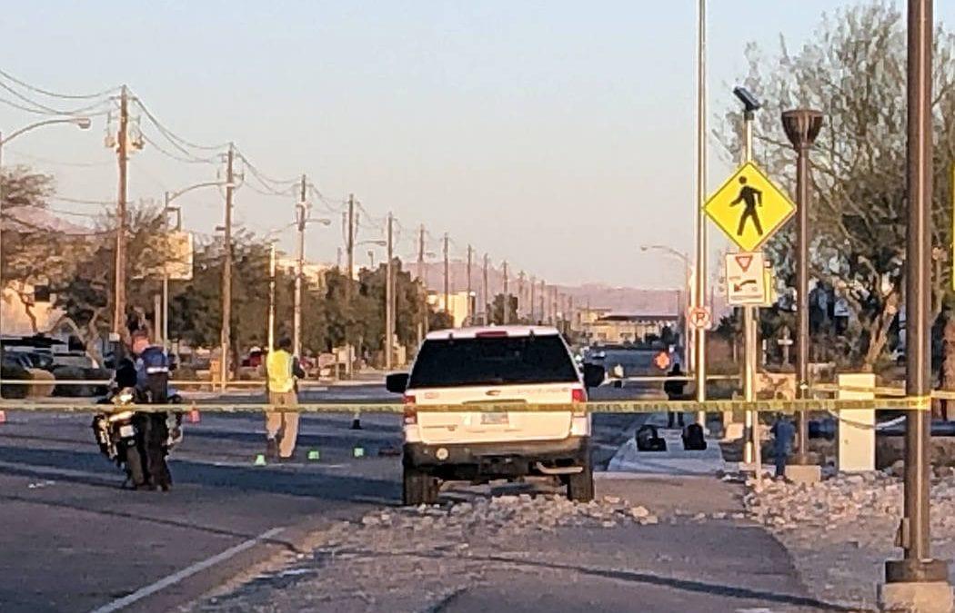 Boy hit by pickup in North Las Vegas dies at hospital