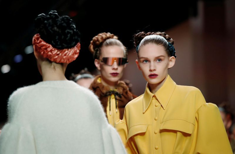 Fendi reveals structured, fitted Fall/Winter 2020 look