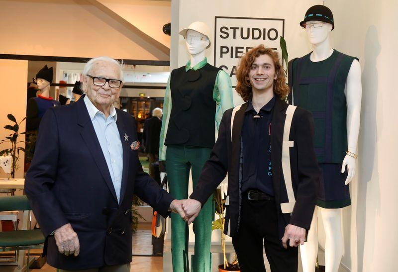 At 97, designer Cardin is still seeking fashion's next trendsetter