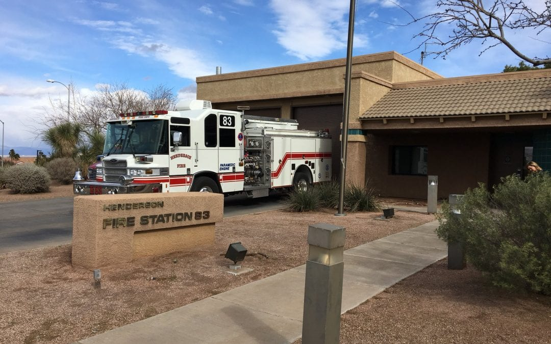 Henderson Fire Station 83 Redesign Earns Green Recognition