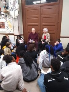 Dusty-and-Sybil-Lansdale-225x300 Dallas County Museum Hosts FHS English Classes [your]NEWS