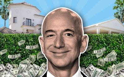 Jeff Bezos spent more on his new home in Beverly Hills than Amazon has paid so far in U.S. federal income tax for 2019