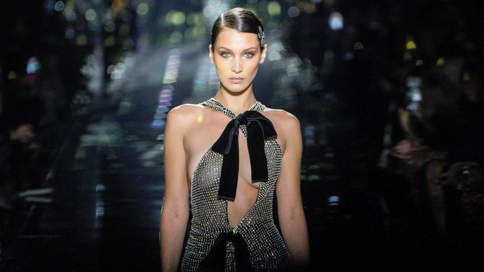 Tom Ford shows his sexy designs in Los Angeles