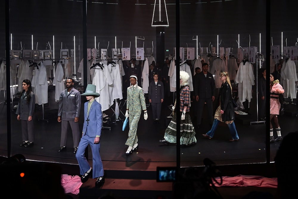 Gucci gives guests backstage pass at Milan show