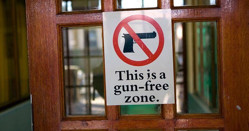 "BILL WOULD HOLD ""GUN FREE ZONES"" LIABLE FOR LOSSES SUFFERED BY GUN OWNERS"