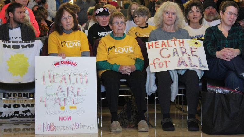 Kansas Medicaid Expansion Blocked, Supporters Frustrated And Lawmakers Considering 'Nuclear Option'