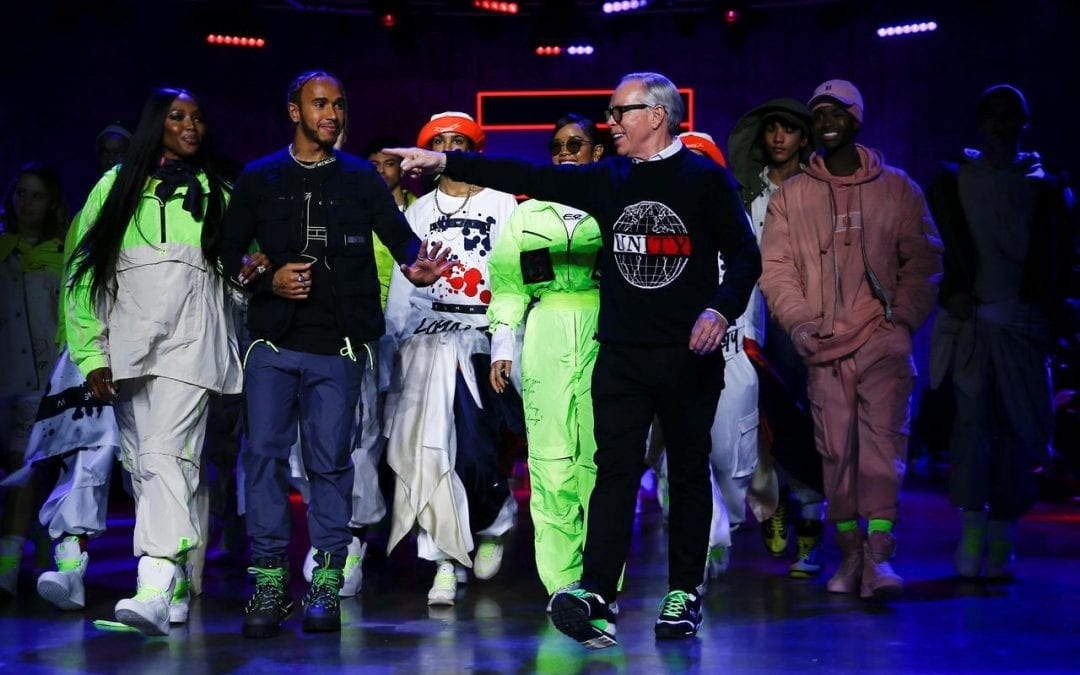 Neon streetwear goes sustainable for Tommy Hilfiger's London show
