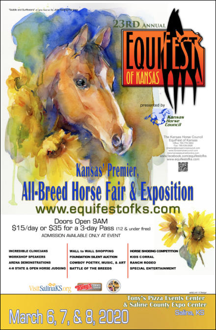 Equifest of Kansas in Salina for 2020